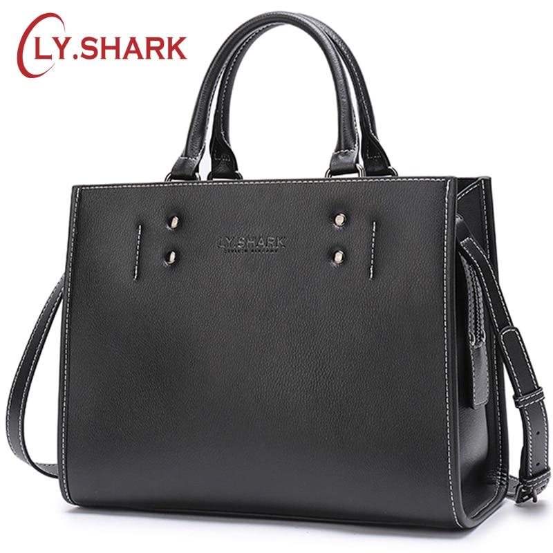 LY.SHARK designer Bag Women Handbag Female Bag ladies genuine leather crossbody messenger bag women shoulder bag famous brand