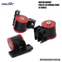 For 92 95 Honda Civic EG B16/B18 B Series Motor Mounts Kit B18C B18C1 B18C5 B16A Jdm TK EP06MM92HD3B