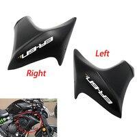 12 16 ER 6N Right Left Panel Side Compression Molded Radiator Cover Fairing Bodywork For Kawasaki ER 6N ER6N 2012 2013 14 15 16