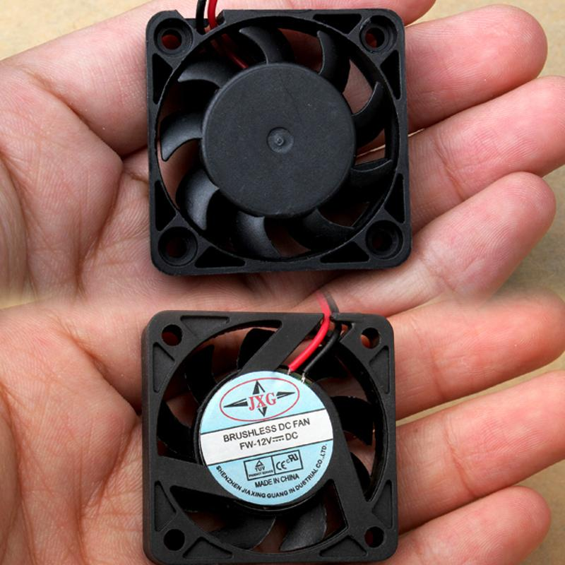 VODOOL 1Pc Black 2 Pin Cooler Fan 12V 40mm Brushless PC Fan PC Cooler Cooling Fan PVC DC 12V Computer Cooling Fan computer case cooler 2pin 12v 4cm 40mm pc cpu cooling cooler fan black heat sink small cooling fan pc for arduino raspberry pi