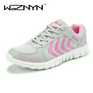 WGZNYN flat shoes sneakers women 2018 tenis feminino 05dd17316e052