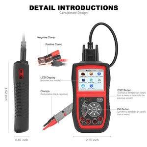 Image 5 - Autel AL539B OBD2 Scanner Code Reader Battery Tester Avometer for 12 Volts Diagnostic Tool Electrical Tester built in speaker