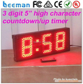 3 digits led signs led sports timer /outdoor led countdown timer /outdoor led display timer