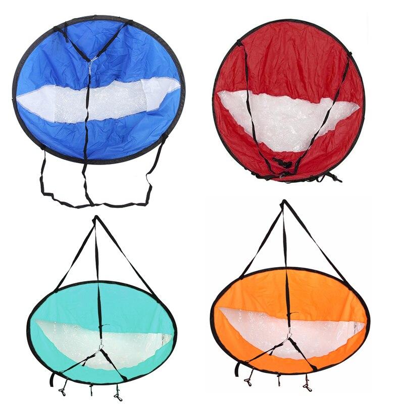 Durable 42 Kayak VOILE Pour La Pêche Bateau À Voile Pliable Vent Marin Sup Paddle Planche Voile Avec Fenêtre Transparente de Baisse gratuite