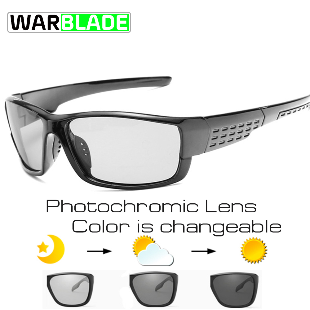 8201ddf5bd9 Cycling Glasses Polarized Men Sports Bicycle Sunglasses UV400 Road MTB Bike  Riding Eyewear Protection Goggles Photochromic