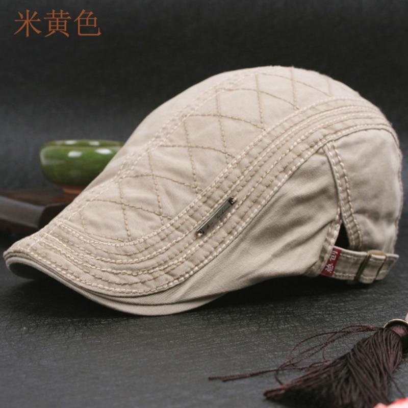 Dt599 100% algodão cap jornaleiro gatsby hera dos homens gorras chapéu do  vintage casquette chapéus f4d3141b2f4