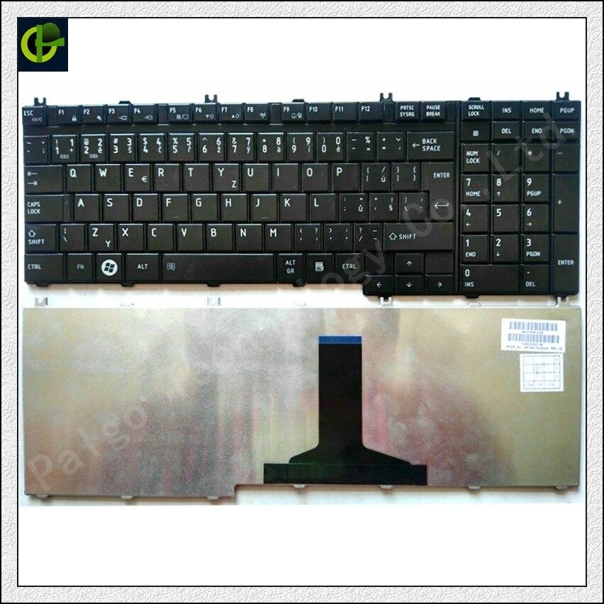 Tchèque Clavier pour Toshiba Satellite A500 X200 X505 P200 P300 L350 L500 X500 X300 A505 A505D F501 L535 P205 CZ fit Slovaquie SK