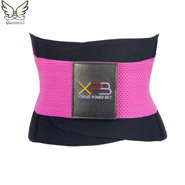 Modelado de La Correa delgada correa de cintura trainer entrenador cintura corsés moldeadores calientes cuerpo Body shaper faja de cintura En Forma de mujeres