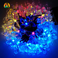 2017 Energy Saving Solar Fairy LED String Light Novelty Butterfly Outdoor Festival Party Garden Decoration Lights 4.8M