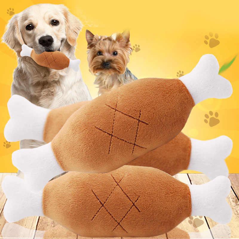 חם קטיפה חיות מחמד כלב חתול עוף רגליים קטיפה Tosy אינטראקטיבית קול צעצועי ציוד לחיות מחמד כלב בפלאש צעצועים לכלבים כלבים צעצועי חיות מחמד
