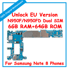 For Samsung Galaxy Note 8 N950F N950U N950FD Dual SIM