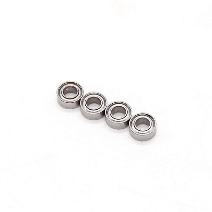5x11x4mm Stainless Steel Deep Groove Bearings Ball Bearings SMR115ZZ 4pcs