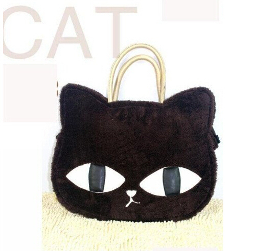 Cheap Products   Women's Handbag Cat Pattern   Floss Winter Bags Tote Handbags  Products  S016
