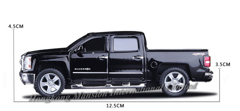 136 Car Model For Chevrolet SILVERADO Pickup (11)