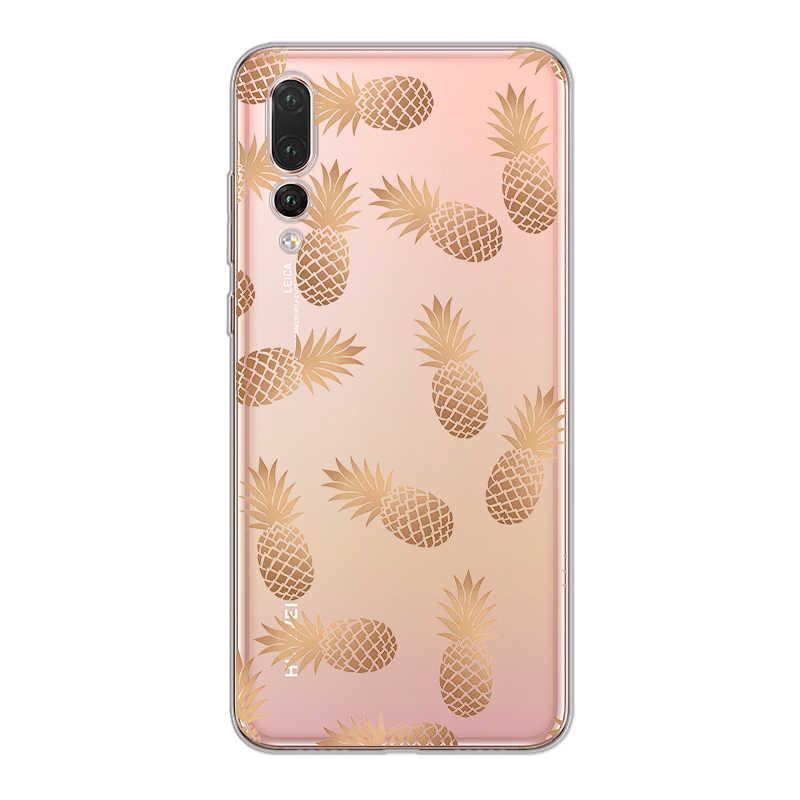 Limão Melancia Capa para Huawei P30 ciciber P20 Pro Lite Casos de Telefone TPU Macio para P10 P9 P8 Além de Lite mini P Inteligente 2019 2017