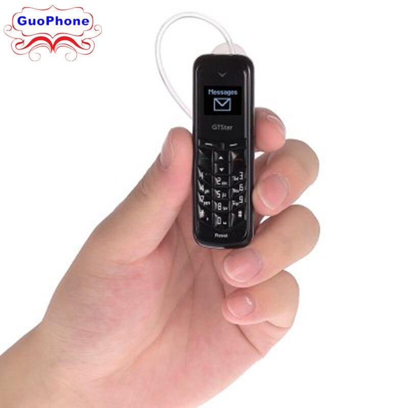 GTSTAR BM50 bluetooth mini handy 0,66 zoll GSM Netzwerk Bluetooth Dialer headset Universal mini kopfhörer dual sim-handy