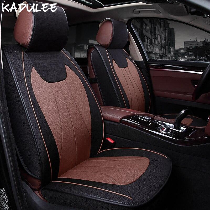 KADULEE housse de siège auto universelle pour siège ibiza leon 2 fr altea ateca accessoires auto protection de siège auto