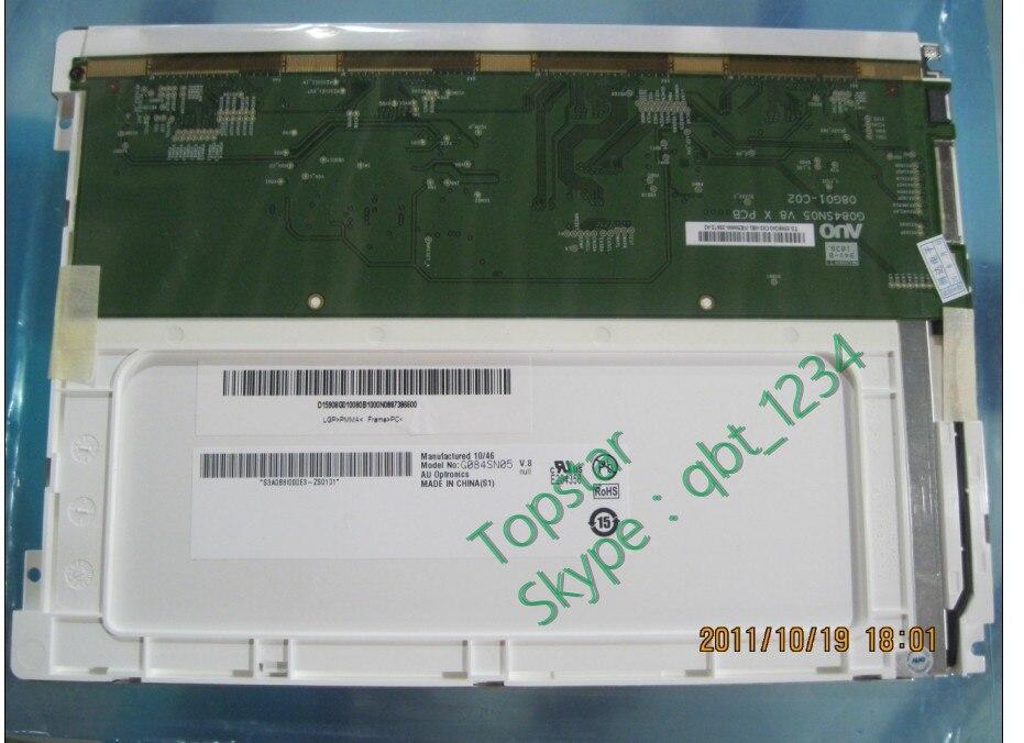 Lcd Modules Cheap Price 8.4 Inch Lcd Panel G084sn05 V8 G084sn05 V.8 Lcd Display 800 Rgb*600 Svga Led Lcd Screen 1 Ch 6-bit 450 Cd/m2