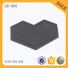 LB404 Custom clothing labels personalized garment tags silicone rubber label