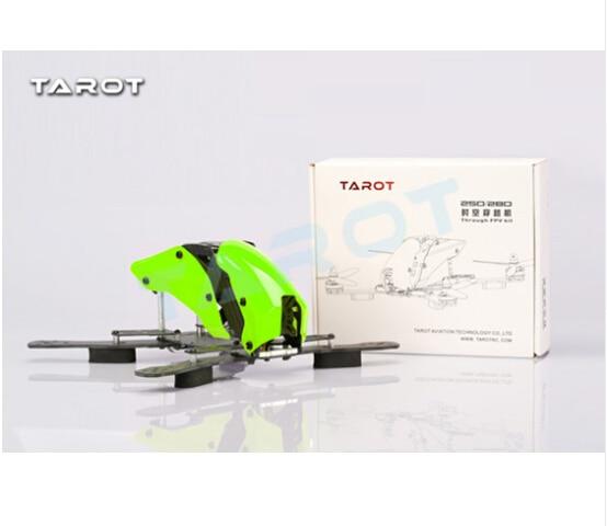 F16597 Tarot Mini 250 Shuttle Rack Half Carbon Version TL250H Color Green tarot mini 250 shuttle rack pure carbon version tl250c free shipping with tracking