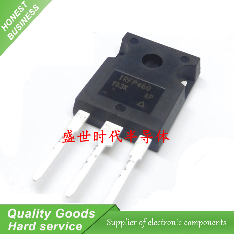 10pcs IRFP460PBF IRFP460 500V N-Channel MOSFET TO-247 New Original Free Shipping