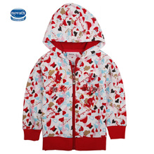 novatx girl jacket for kids clothes girls hooded fashion children outerwear autumn baby girls coat kids girls clothing F3011