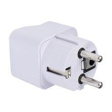 International Universal Travel Electrical Plug For UK US EU AU to EU Euro Plug AC Power Travel Home Charger Adapter Converter GT