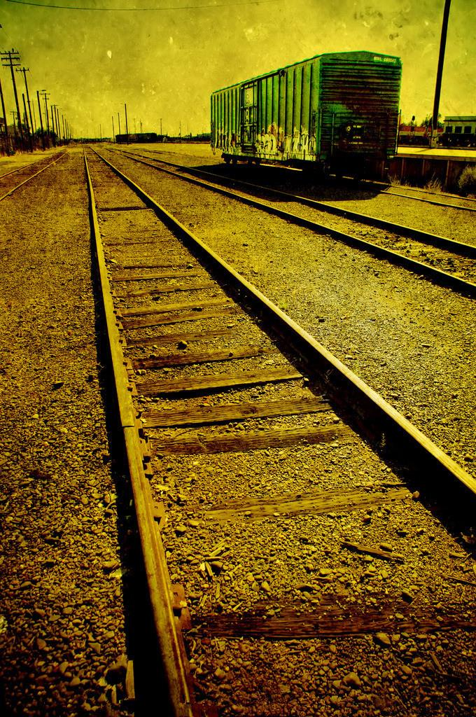 SHENGYONGBAO 5x7ft Art Cloth Custom Railway Theme Photography Backdrops Prop Photo Studio Background NTG-334