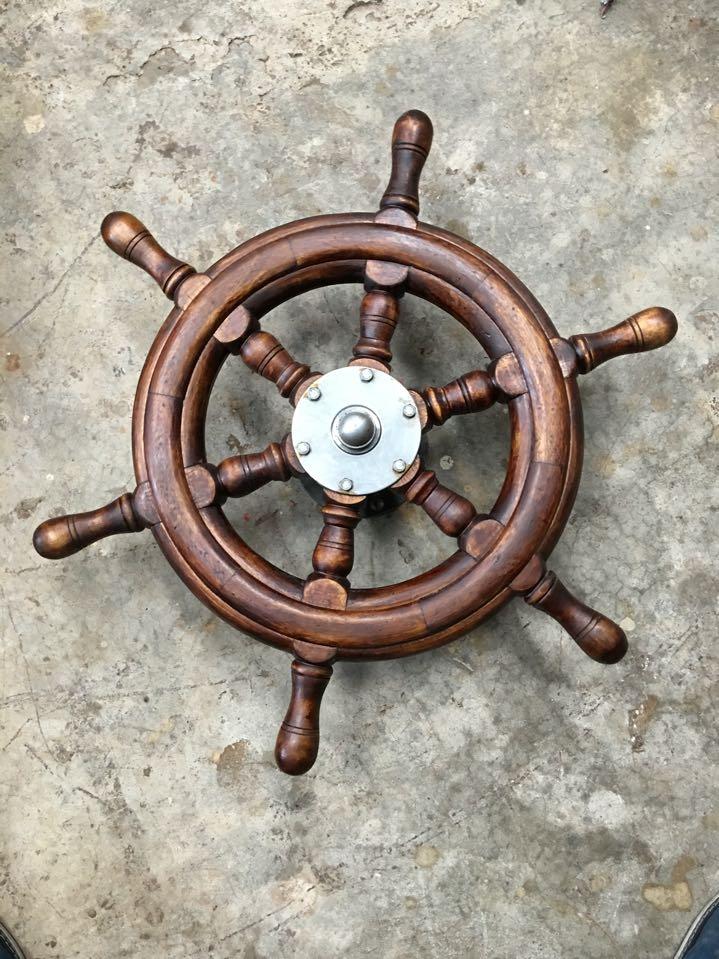 Roue de bateau nautique, capitaine de Pirate 20