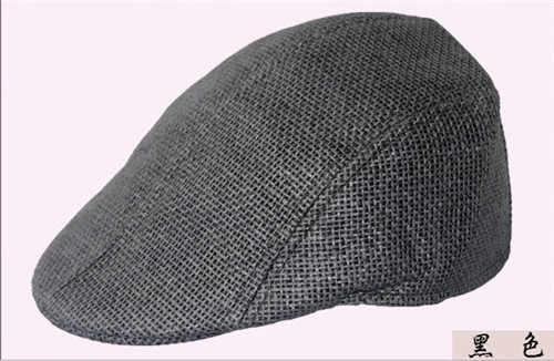 2017 جديد العلامة التجارية خمر الرجال القبعات ، عارضة النساء بيني قبعة القش بلون الصيف بارد ومريحة شحن مجاني