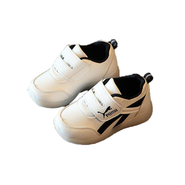 fashion lightning causal baby shoes classic flash PU MA shoes for 1-3yrs baby newborn infantil outdoor sport shoes hot sale