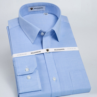 Men S Slim Fit Spread Collar Non Iron Dress Shirt With Left Chest Pocket High Quality