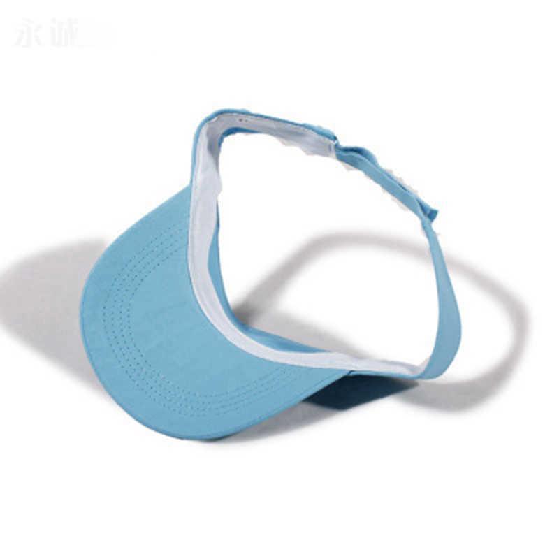 2018 ชายหญิงฤดูร้อนที่ดีที่สุดหมวกสำหรับหมวกกีฬากระดูก Visor เทนนิสหมวกเบสบอลหมวกหมวกหมวกชายหาดกลางแจ้งกีฬา Snapback 20