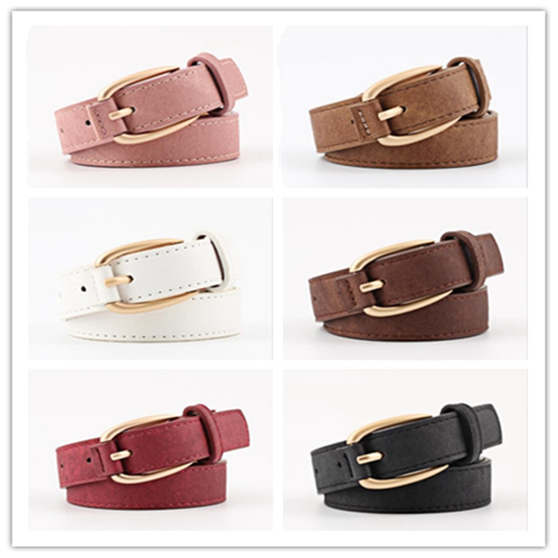 1pcs New Style Women Waist Belt Faux Leather Alloy Buckle Waistband Decorative Personality Belt Fashion BBB0721