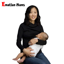 Hot wholesale!!! Free Shipping Thermal Heating cotton fiber 7colors Maternity Breastfeeding Tops Nursing
