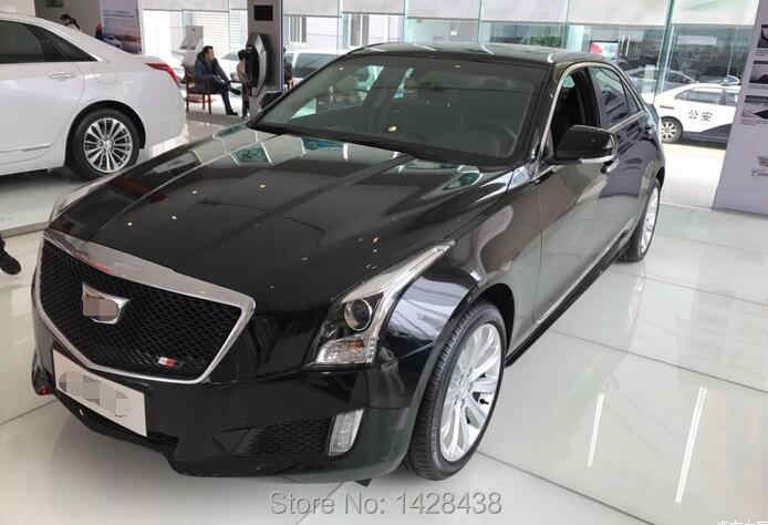 1PC ALL BLACK HEAVY MESH GRILLE GRILL for CADILLAC ATS 2017 2016