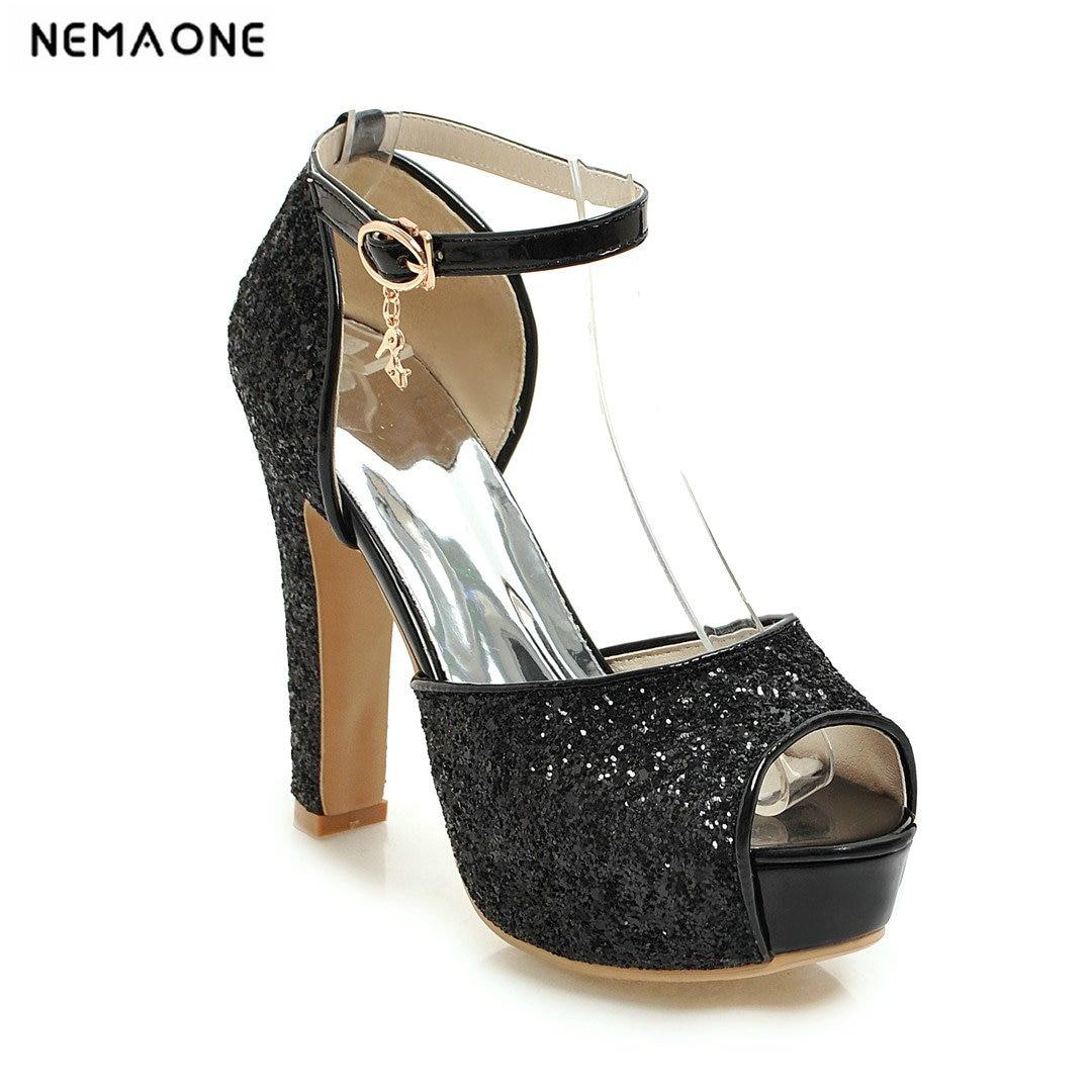 Wedding High Heels Sandals: Aliexpress.com : Buy 2019 NEW Fashion Women Sandals Bling