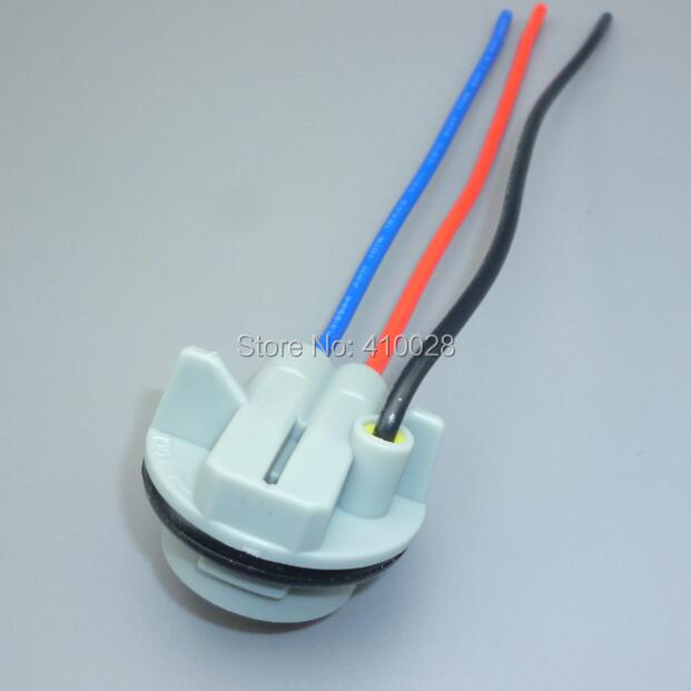 shhworldsea 5/10/30/100pcs 1157 Led Bulb Light Lamp Harness Plug ...