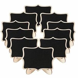 30 шт./лот, винтажная 6 видов стилей, Маленькая деревянная доска для досок, доска для досок, настольная, номер, Свадебные вечерние, стираемые до...