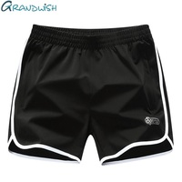 Grandwish Plus Size 5XL Shorts Men Fitness 2018 New Summer Mens Shorts Big Size Elastic Wasit