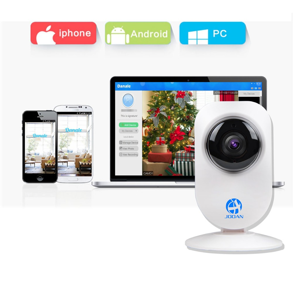 Jooan Wireless Ip Camera 720p Two Way Audio Cloud Storage Wifi Baby Monitor Home Surveillance Security Network Cctv In Cameras From