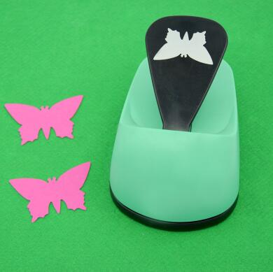 free shipping 3(7.6cm) butterfly shape EVA foam save power craft punch DIY puncher greeting card puncher Scrapbook puncher