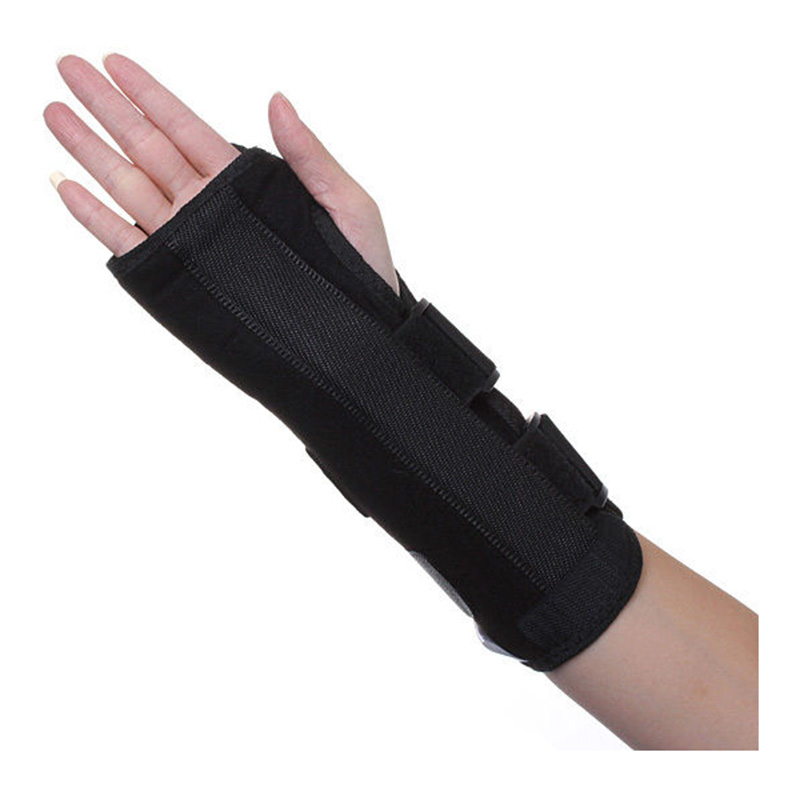 Black Wrist Brace Support Splint For Carpal Tunnel Arthritis Sport Sprain Pain Right Hand S