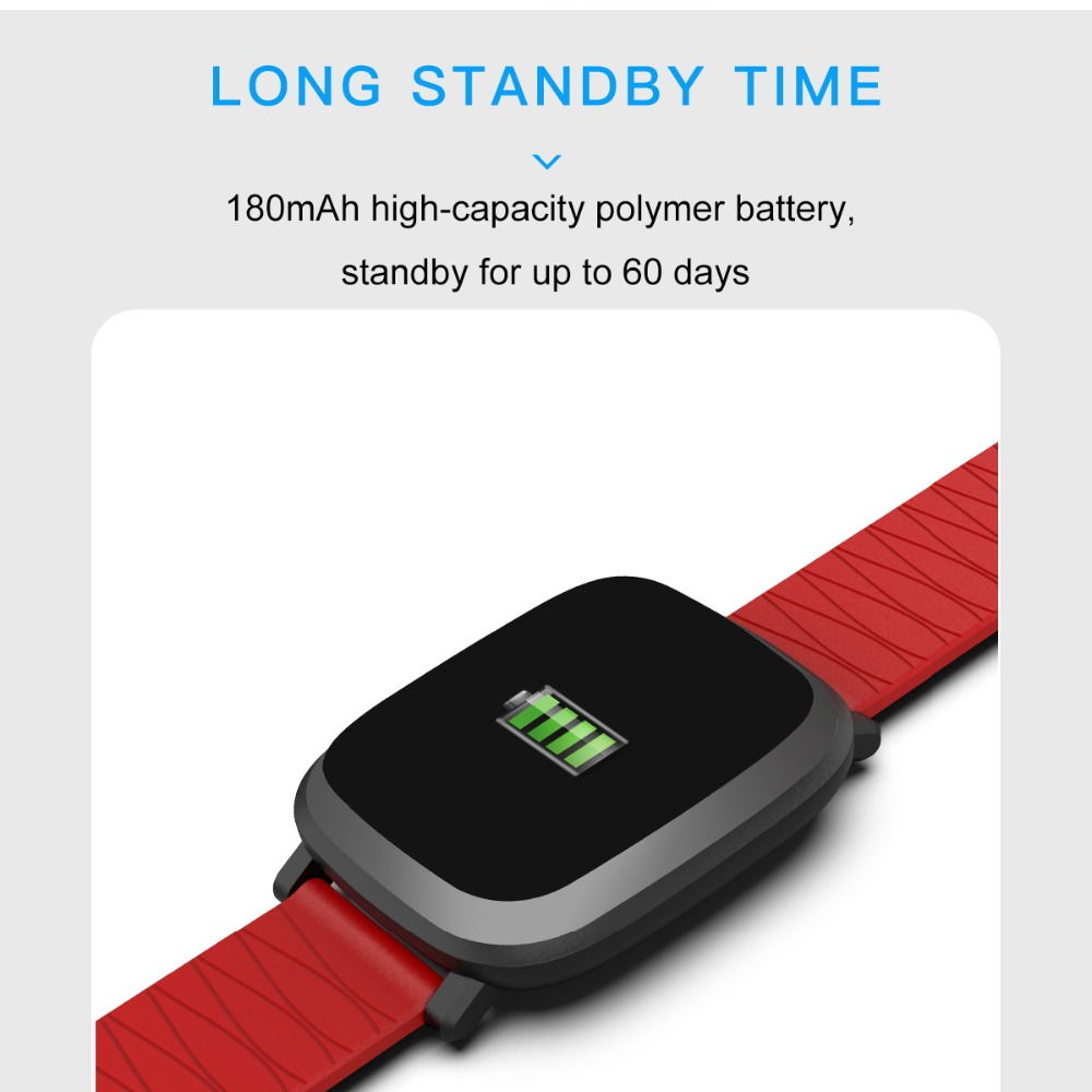 Bluetooth Digital Watch sport Fitness Tracker heart rate monitor For IOS iPhone 10