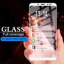 Protective Glass For Xiaomi Redmi redmi note 5 pro plus s2 4 4x 6 6A screen Protector for mi 8 8se a1 a2 lite 5x 6x Case Cover