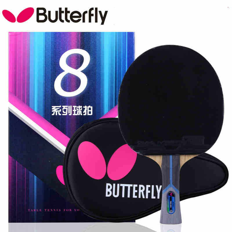 NEW Arrival Butterfly 801/802 Table Tennis professional Ping Pong Racket Paddle Bat Blade  FL/CS Loop quick attack