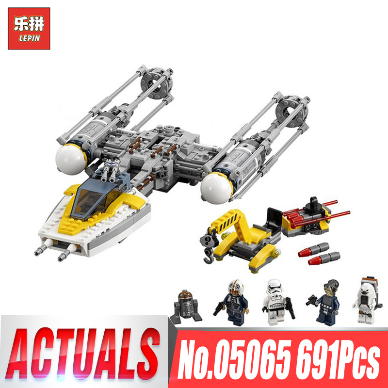 Lepin 05065 Star Y toy wing fighter Set Building Blocks Bricks Educational Toys Gift Wars Compatible legoinglys 75172 Boys GIfts ynynoo lepin 05007 star assembling building blocks marvel toy compatible with 10467 educational boys gifts wars