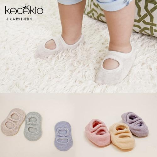 0 To 12 Month Baby Socks Summer Boys Girls Pure Color Socks Cotton Anti Slip Cute Socks Newborn Wear GZ11