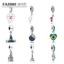 FAHMI Magic Hat Eiffel tower 925 Silver Jewelry