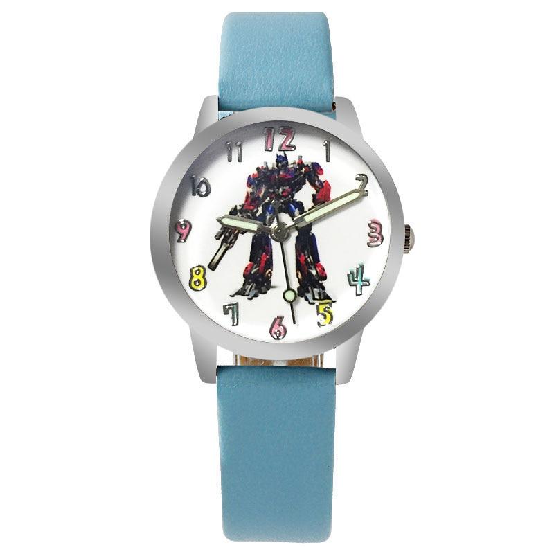 Hot Movie Anime Cartoon Children Quartz Watch Casual Cool Boy Sports Leather Luminous Clock Baby Girl Student Gift Jewelry Watch